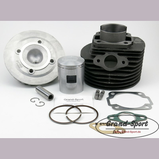 POLINI 130ccm cylinder + GRAND-SPORT piston rings, VESPA smallframe, stroke 51mm