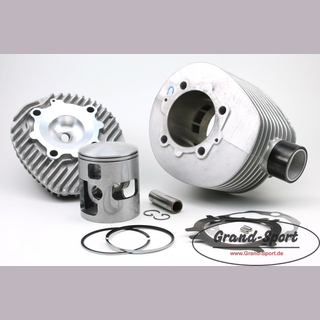 Cylinder kit POLINI 210 Alu with cylinder head and GRAND-SPORT bic piston pin