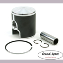 Piston kit YAMAHA RD 250LC, Typ: 4L1 with cast iron...