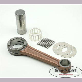 Connecting rod kit YAMAHA XS 650 with silver bearing, type: 447-