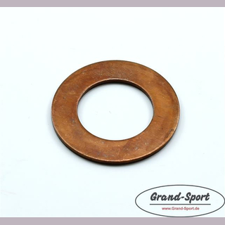 Washer crank pin 20 x 34 x 1,5mm, copper