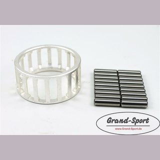 Big end bearing 38 x 48 x 24,7mm with silver case for HONDA XK/XR/XLR 600