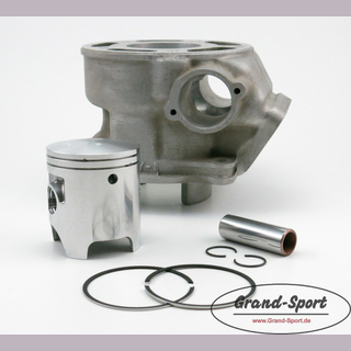 Piston kit Yamaha TDR, TZR, DT 125, type: 4FU00, 56mm, with coated alu cylinder