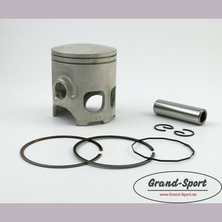 Piston kit YAMAHA RD 350YPVS/ RZ 350, Typ: 31K- cast iron liner, 64,0-66,0mm